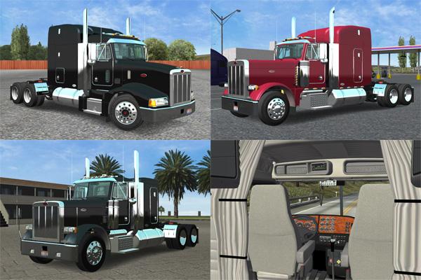 18 wos haulin truck 2. Voici mes camions du jeux us truck.
